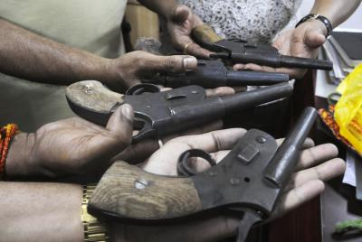 Haryana Police bust illegal arms making unit in UP
