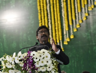 Hemant Soren completes 1-yr in office, inaugurates various schemes