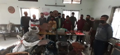 Huge cache of smuggled marine life products seized in Guwahati, 3 held