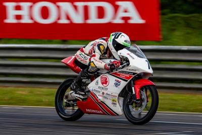INMRC: Shetty records win, double podium for Honda