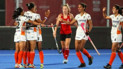 India women's hockey to tour Argentina in next month