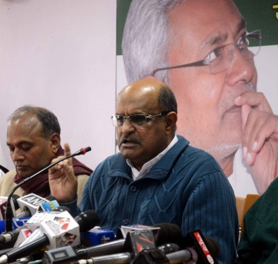 JD-U announces new chief, hits out at BJP over Arunachal episode