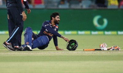 Jadeja ruled out of rest of T20I series with concussion