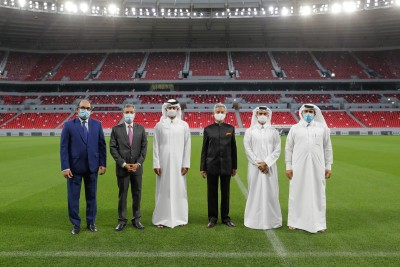 Jaishankar visits FIFA 2022 World Cup venue in Qatar
