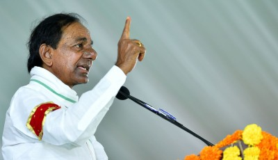 KCR announces filling up of vacancies in all departments