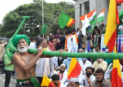 Karnataka farmers to join 'Bharat Bandh' against farm laws