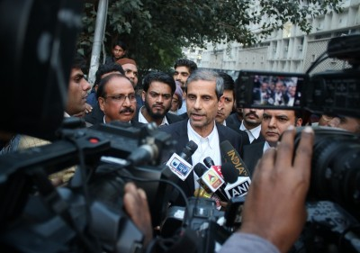 Lawyer Mehmood Paracha's office raided, going by the book, say cops
