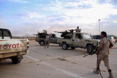 Libya's eastern-based forces intercept commercial ship