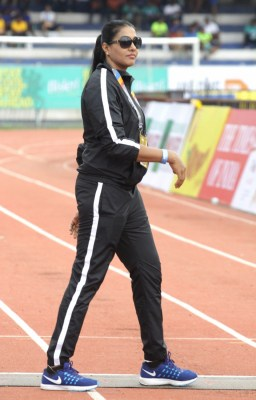 Long jumper Anju says she reached dizzy heights with single kidney