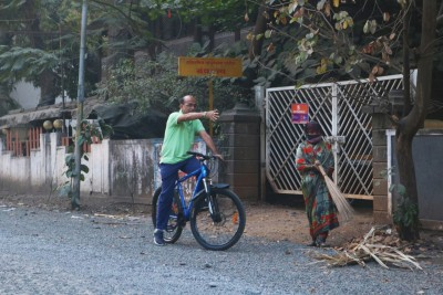 Maha's 'cycle samaritan' pedals away to solve citizens' issues