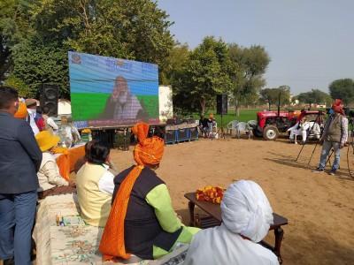 Modi govt making strong arrangements for farmers: Raj BJP chief