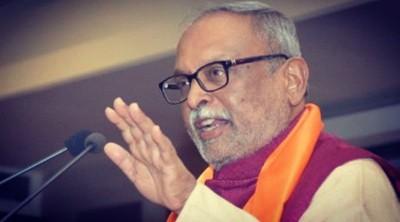 Mortal remains of BJP leader Abhay Bhardwaj cremated in Rajkot