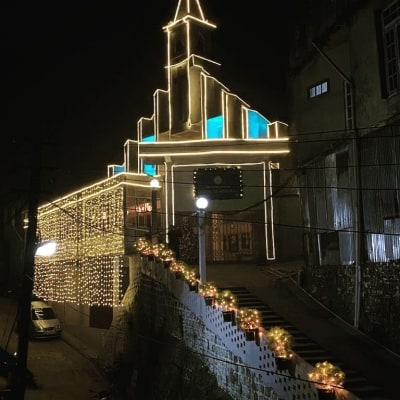 Muted Christmas celebrations in NE