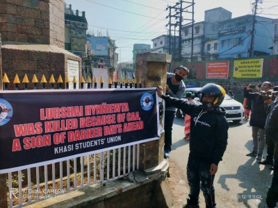 NE parties observe 'Black Day' against new citizenship act