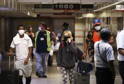 NYC Covid-19 infection rate tops 5%: Mayor