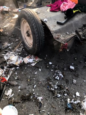 Nigeria: 4 killed, 8 injured in car explosions
