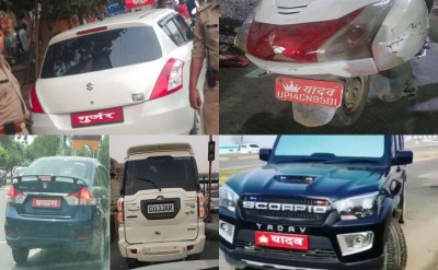 No more caste stickers on vehicles in UP