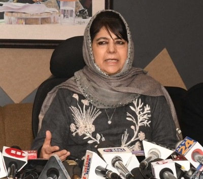 No rule of law in J&K, says Mehbooba as 2 PDP leaders detained