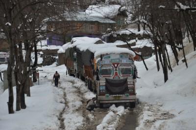 'Orange' warning in J&K and Ladakh as heavy snow/rain likely