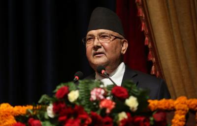 PM Oli removed as parliamentary party leader