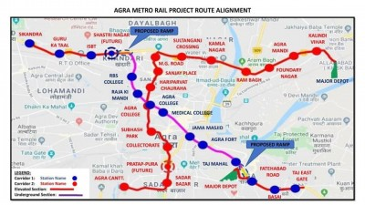 PM to green signal Agra Metro Project on Monday