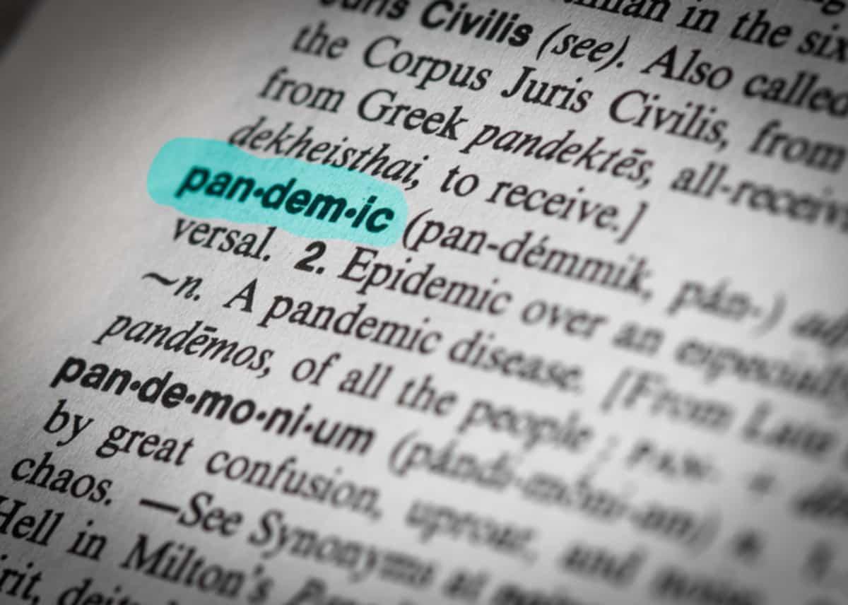 'Pandemic' most popular word of 2020: Merriam- Webster