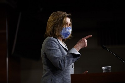 Pelosi expresses optimism over COVID-19 relief package