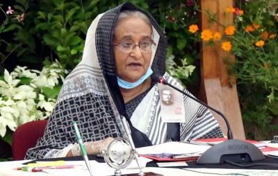 Persecution of Rohingyas a painful example of crimes: Hasina