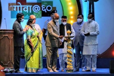 President lauds Goa for rapid strides in per capita GDP, tourism