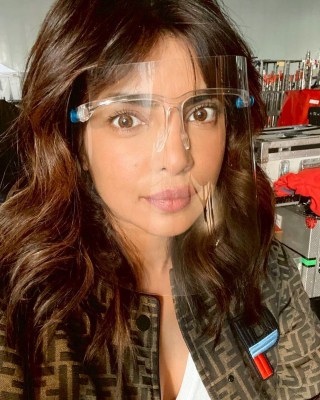 Priyanka shares 'what shooting a movie looks like in 2020'