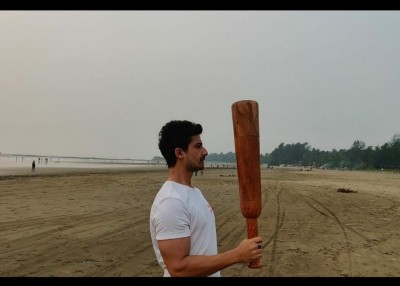 Priyanshu finds swinging the 'mudgar' meditative