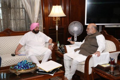 Punjab CM to call on Shah on Thursday on farmers' issue