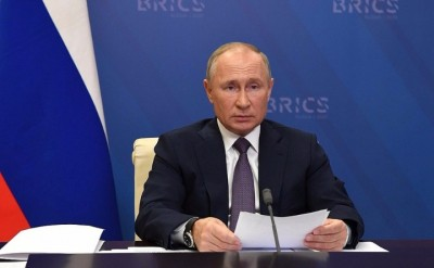 Putin addresses global challenges at annual press conference (Ld)