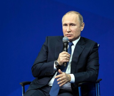 Putin condemns US withdrawal from key military agreements