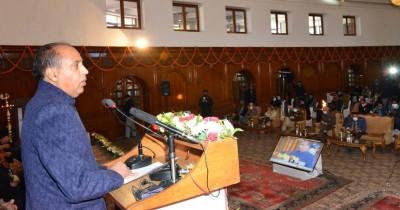 Rajnath appreciates 3-yr achievements of Himachal CM