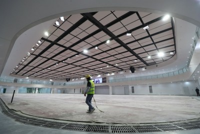 Renovation of ice hockey venue for Beijing 2022 completed