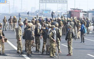 Security up in Gurugram as farmers' plan to block Delhi-Jaipur NH