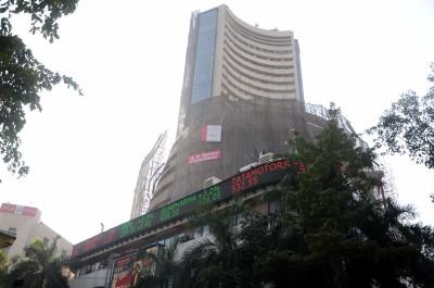 Sensex crosses 46,000, Nifty above 13,500 (Ld)