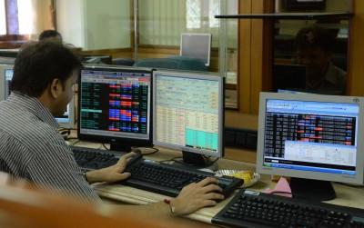 Sensex down 250 points, Nifty below 13,500