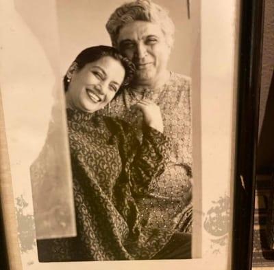 Shabana Azmi shares pic with Javed Akhtar ahead of 36th anniversary