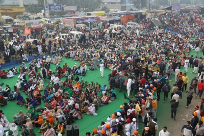 Singhu Border: Commanding centre of farmers' agitation (IANS Special)