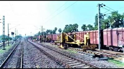 South Central Railway zone commissions first longer loop at Bikkavolu
