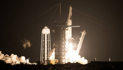 SpaceX, NASA launch ?pgraded cargo Dragon spacecraft to ISS