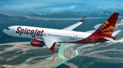 SpiceJet aircraft undershoots runway, pilots grounded