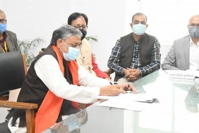 Sushil Modi files nomination for Rajya Sabha bypolls
