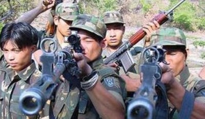 Top Naga militant surrenders along with 52 cadres