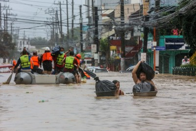 Tropical depression leaves 8 dead, 1 missing in Philippines