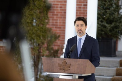 Trudeau urges Canadians to help each other to fight Covid-19