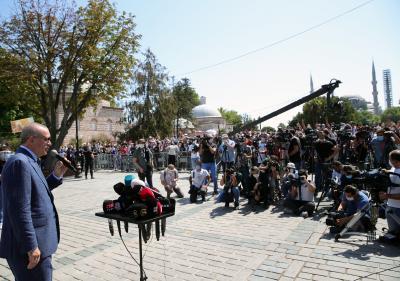 Turkey taking measures against large NYE gatherings: Prez
