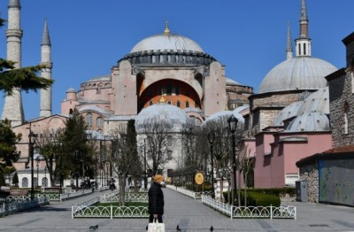 Turkey's tourism sector to plummet 70% due to pandemic